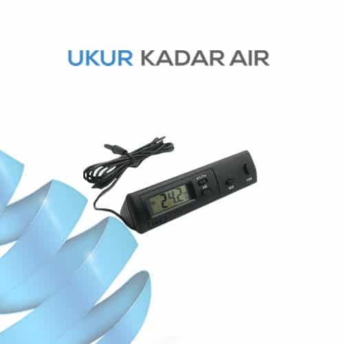 Thermometer with In/Out Sensors and Clock DS-1