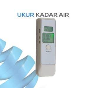 Pengukur Kadar Alkohol untuk uap seri AMT139