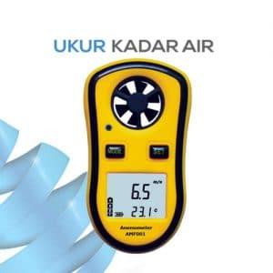 Pengukur Kecepatan dan suhu udara AMF001