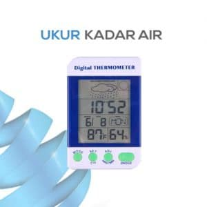 Stasiun Cuaca dan Digital Thermometer seri AMT-110