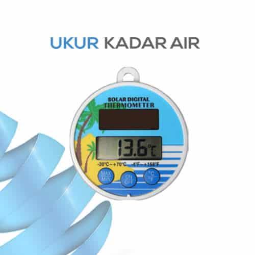 Pengukur suhu untuk kedalaman air seri AMT-117