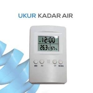 Thermometer dengan jam KK-202