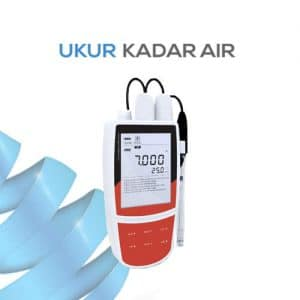 Pengukur pH/mV/Temp Portabel seri pH-221