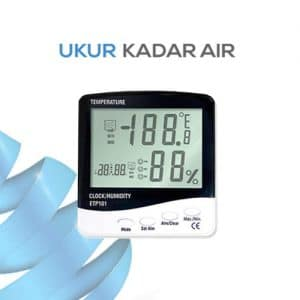 Thermometer ETP101 3 IN 1(Jam,Suhu,Alarm)