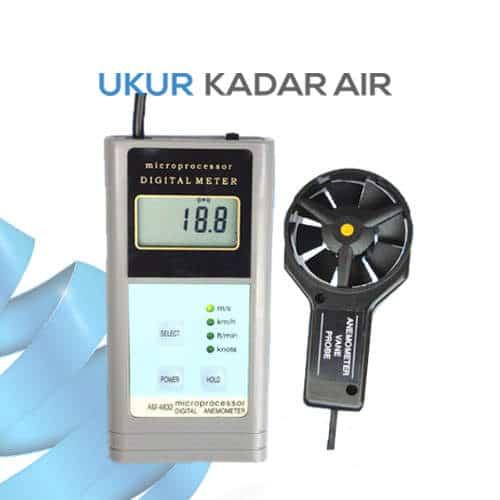 Pengukur Kecepatan Angin seri AM-4832