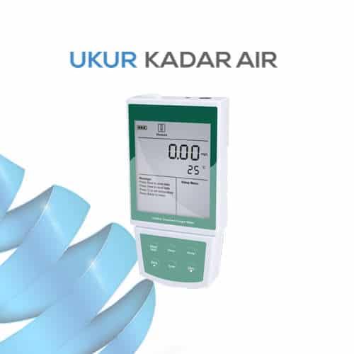 Alat Pengukur Kadar Oksigen Terlarut Portabel DO-820