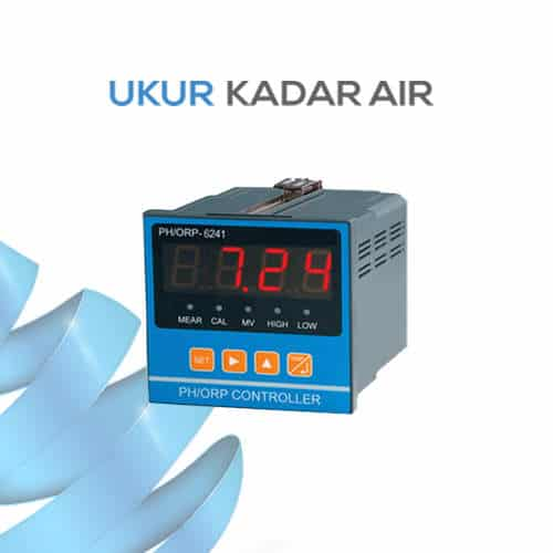 Mesin Pengontrol pH, mV, suhu dan ORP KL-6241