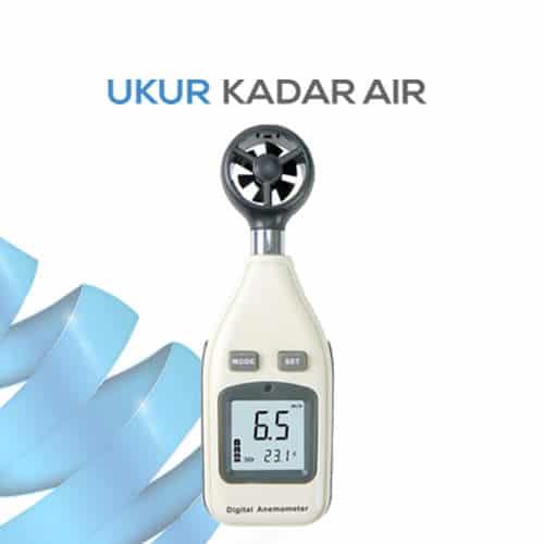 Pengukur Kecepatan dan Temperature udara AMF027
