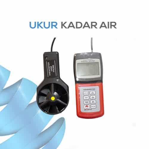 Pengukur Kecepatan Angin Digital Mini AM-4836V