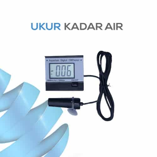 Pemantau Kualitas Air ORP Meter KL-169F