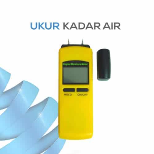 Ukur Kadar Air Kayu dengan TA301