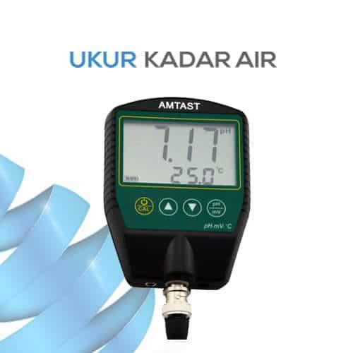Pengukur pH Konduktivitas Temperature AMT16