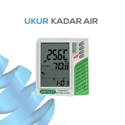 Pemantau Kelembaban dan Temperature Ruangan AMT207