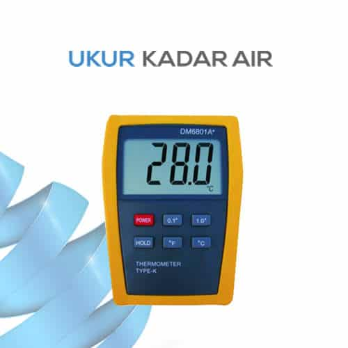 Thermometer High Accuracy DM6801A+
