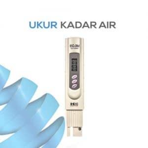 Ukur Konduktivitas Air dengan EC-3