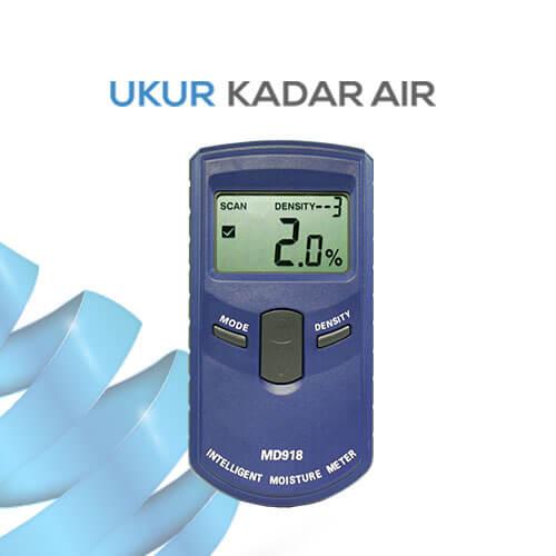 Alat Pengukur Kadar Air Kayu Inductive MD918
