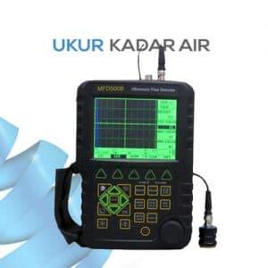 Deteksi kecacatan benda menggunakan gelombang ultrasonic MFD500B