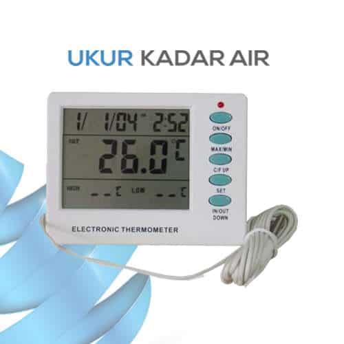 Pengukur Suhu Ruangan Digital AMT-108