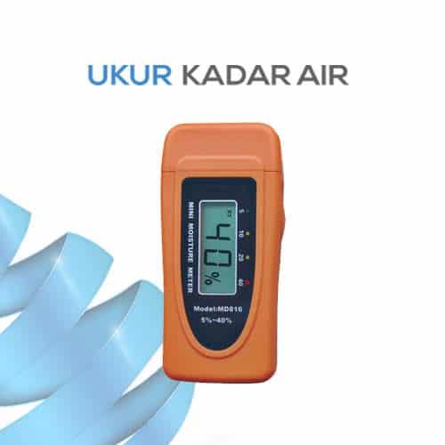 Pengukur Kadar Air Portabel untuk Kayu MD816