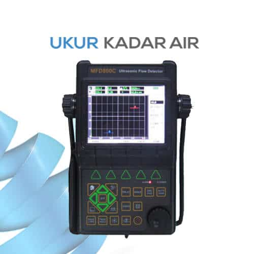 Proffesional Ultrasonic Flaw Detector Deteksi Keretakan MFD800C