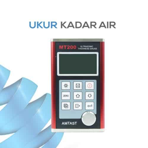 Penguji Ketebalan Benda dengan Ultrasonic MT200