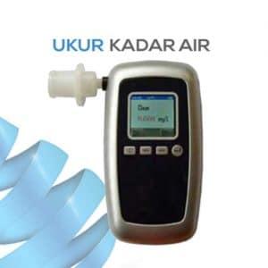 Digital Pengukur Kadar Alkohol melalui uap AMT8100