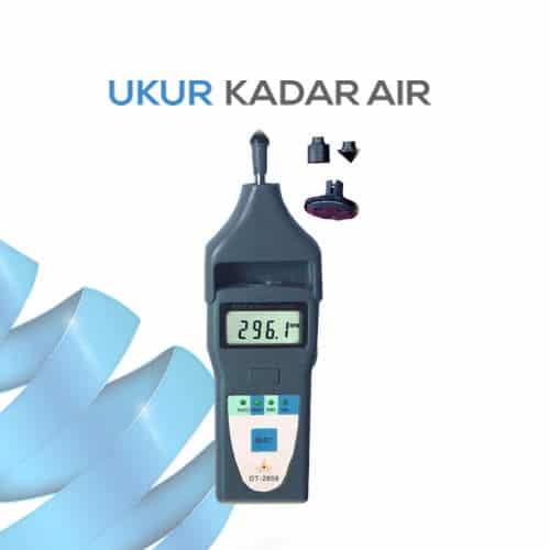 Cek Pengukur Kecepatan Tachometer DT-2858