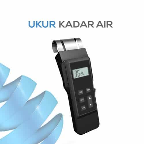 Alat Ukur Kadar Air Kayu EM4812 Sensor Tidak Merusak