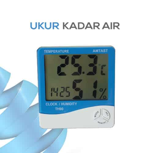 Thermometer Hygro and Clock TH91