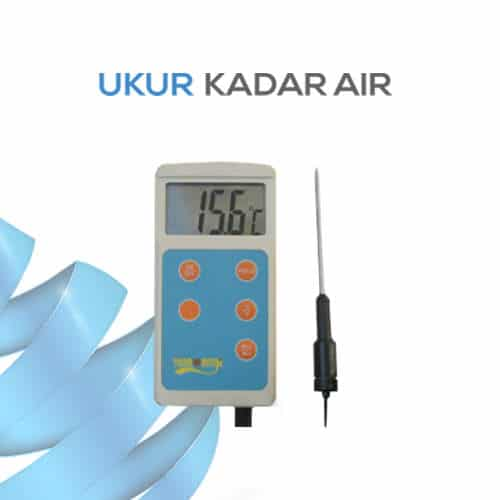 Thermometer Pocket Rentang Pengukuran Luas KL-9866