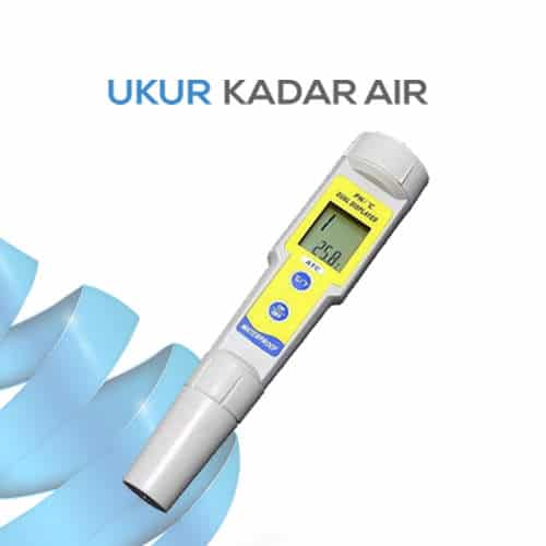 Alat pH Meter Waterproof seri KL-035