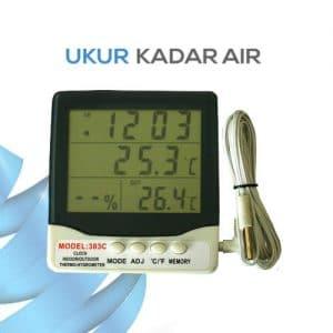 Pengukur Suhu Udara di Lengkapi Jam TH90