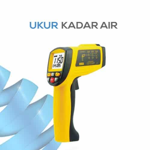Alat Penguji Suhu Benda Thermometer Inframerah AMF012