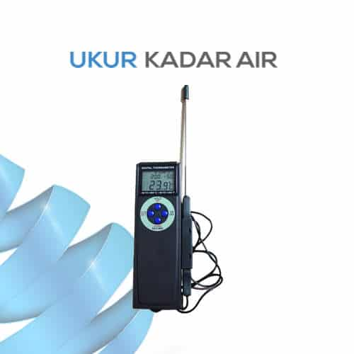 Digital Alarm Thermometer Model Genggam AMT-112