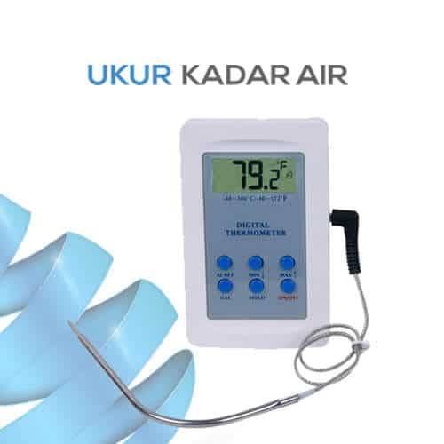 Thermometer Digital Kabel Stainless Steel AMT136