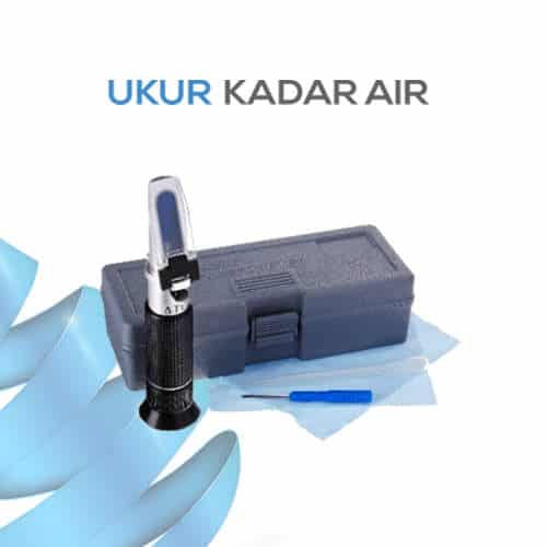 Pengukur Kadar Protein Refractometer Portabel VUR3T