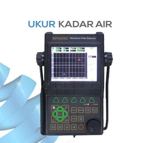 Alat Pendeteksi Kecacatan Benda dengan Ultrasonik MFD650C