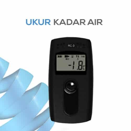 Alat Pengukur Suhu Data Logger dan Portabel seri RC-3