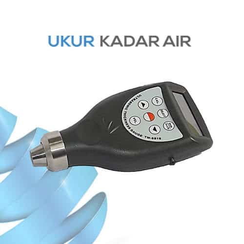 Pengukur Ketebalan Peralatan Kimia Ultrasonic Thickness Gauge TM-8816