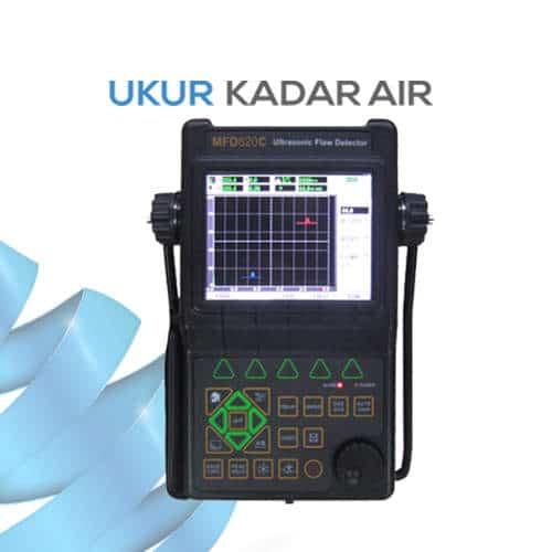 Alat Pendeteksi Kecacatan Benda Flaw Detector MFD620C dengan Ultrasonic