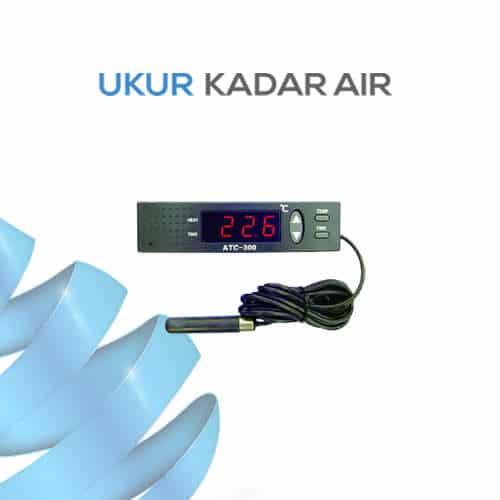 Alat Uji Tingkat Temperature Aquarium Temperature Controller ATC-300
