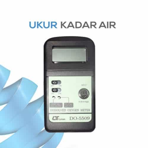 DO Meter Alat Pengukur Kandungan Oksigen Terlarut Portabel seri DO-5509