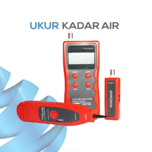 Kabel Tester Alat Pemantau Kesalahan Jaringan Kabel Terlaris dan Portabel seri NF-838