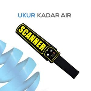 Alat Pendeteksi Portabel Metal Detector / Scanner MDX01