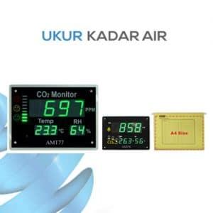 Pemantau Tingkat Kualitas Udara Indoor CO2 Temperature RH Monitor seri AMT76