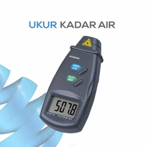 Pendeteksi Kecepatan Benda Portabel Tachometer DT2234A