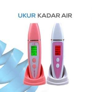 Pengukur Kadar Minyak dan Kelembaban Kulit Terbaru Skin Moisture Meter seri FCM-2