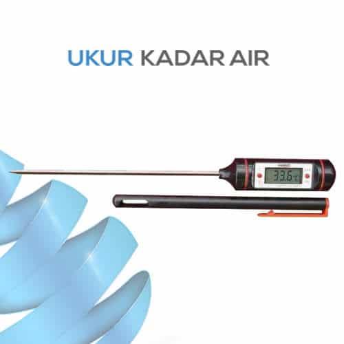 Thermometer Pengukuran Suhu Makanan dan Air Portabel Simpel dan Digital seri WT-1