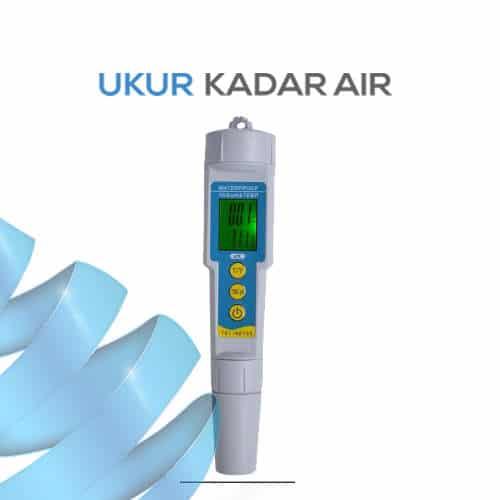 Alat Ukur pH EC Suhu 3 IN 1 AMTAST CT983
