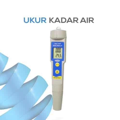 Alat Ukur TDS dan Suhu Tahan Air AMTAST KL1396P